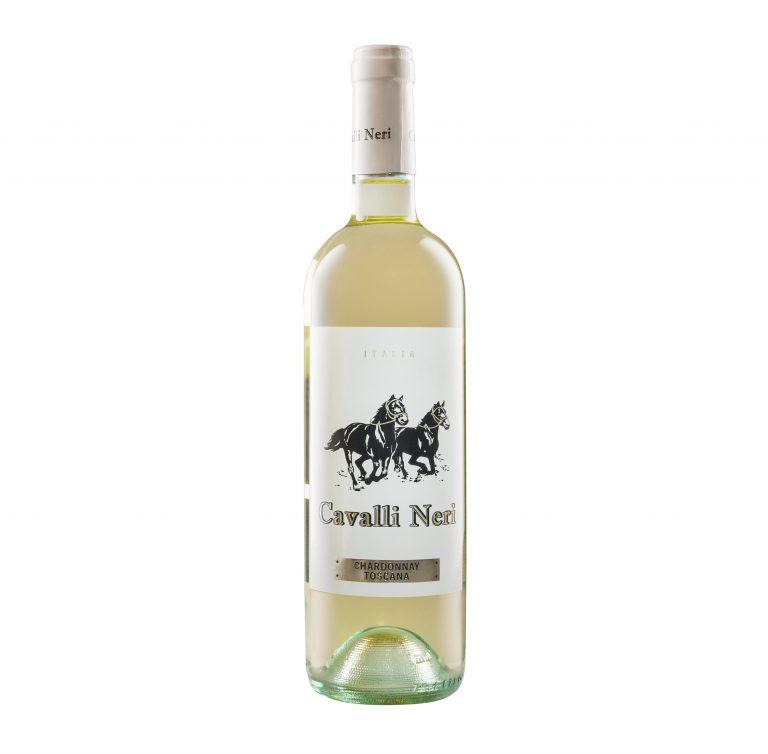 Бутылка белого сухого вина итальянского